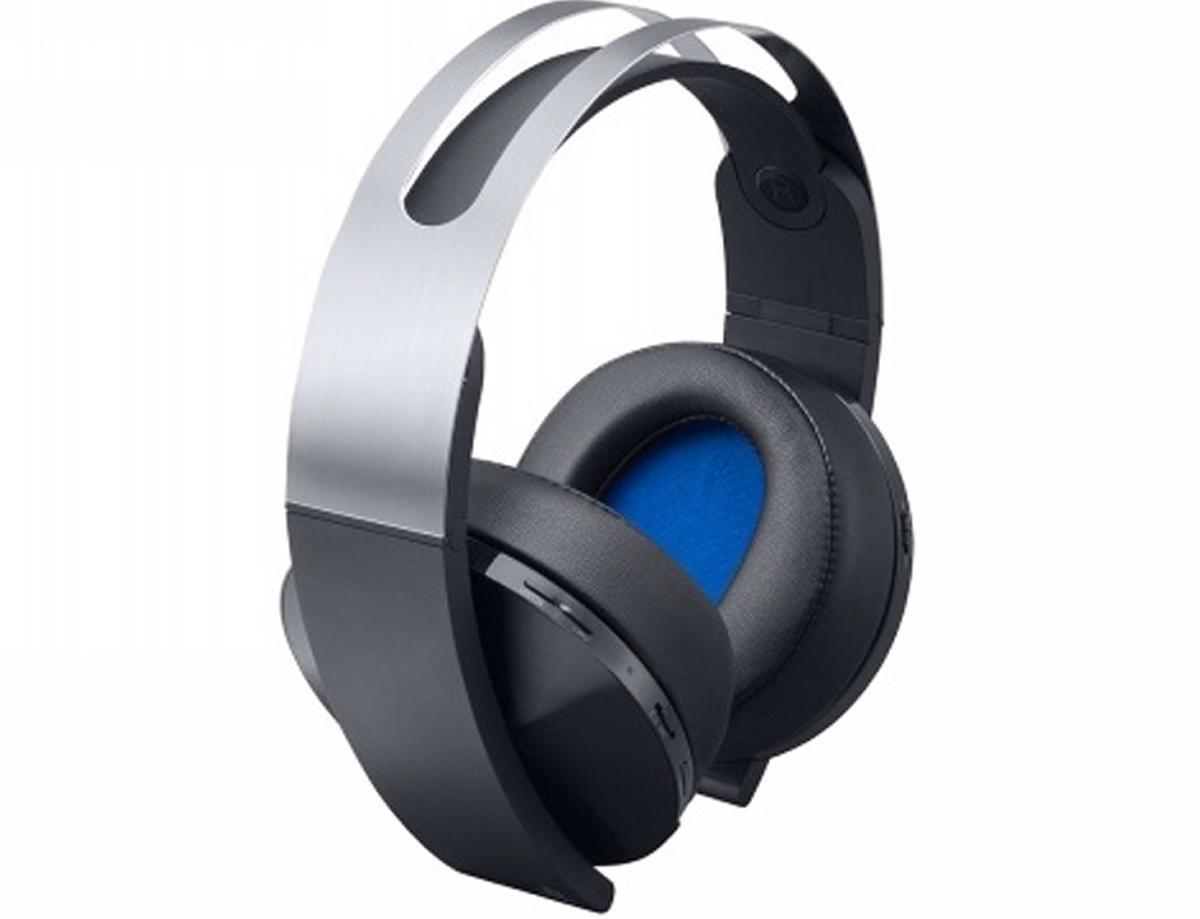 אוזניות סראונד SONY  wireless Ps-4  7.1 צבע platinum