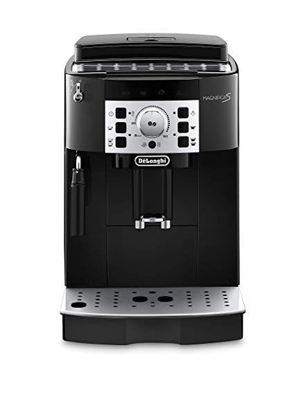 מכונת קפה  אוטומטית  DELONGHI ECAM22.110.B צבע שחור
