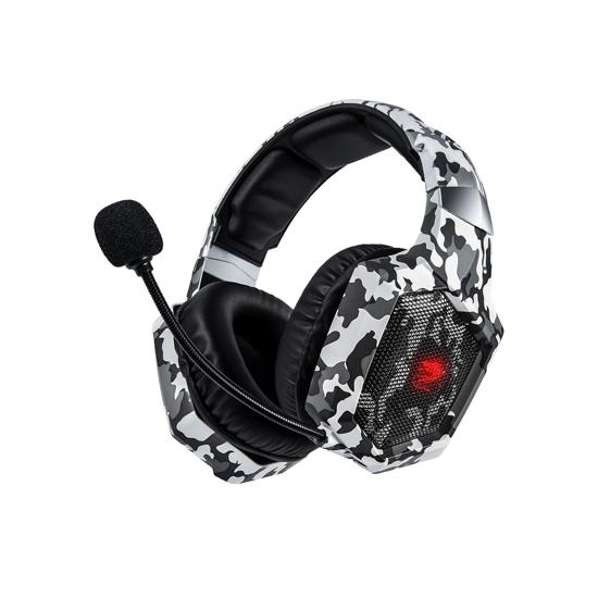 אוזניות גיימינג הסוואה DRAGON COMBAT דגם GPDRA-COM-CAMO
