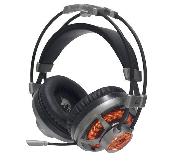 אוזניות מוארות DRAGON X-Pro Silver צבע כסף דגם GPDRA-XPROSI