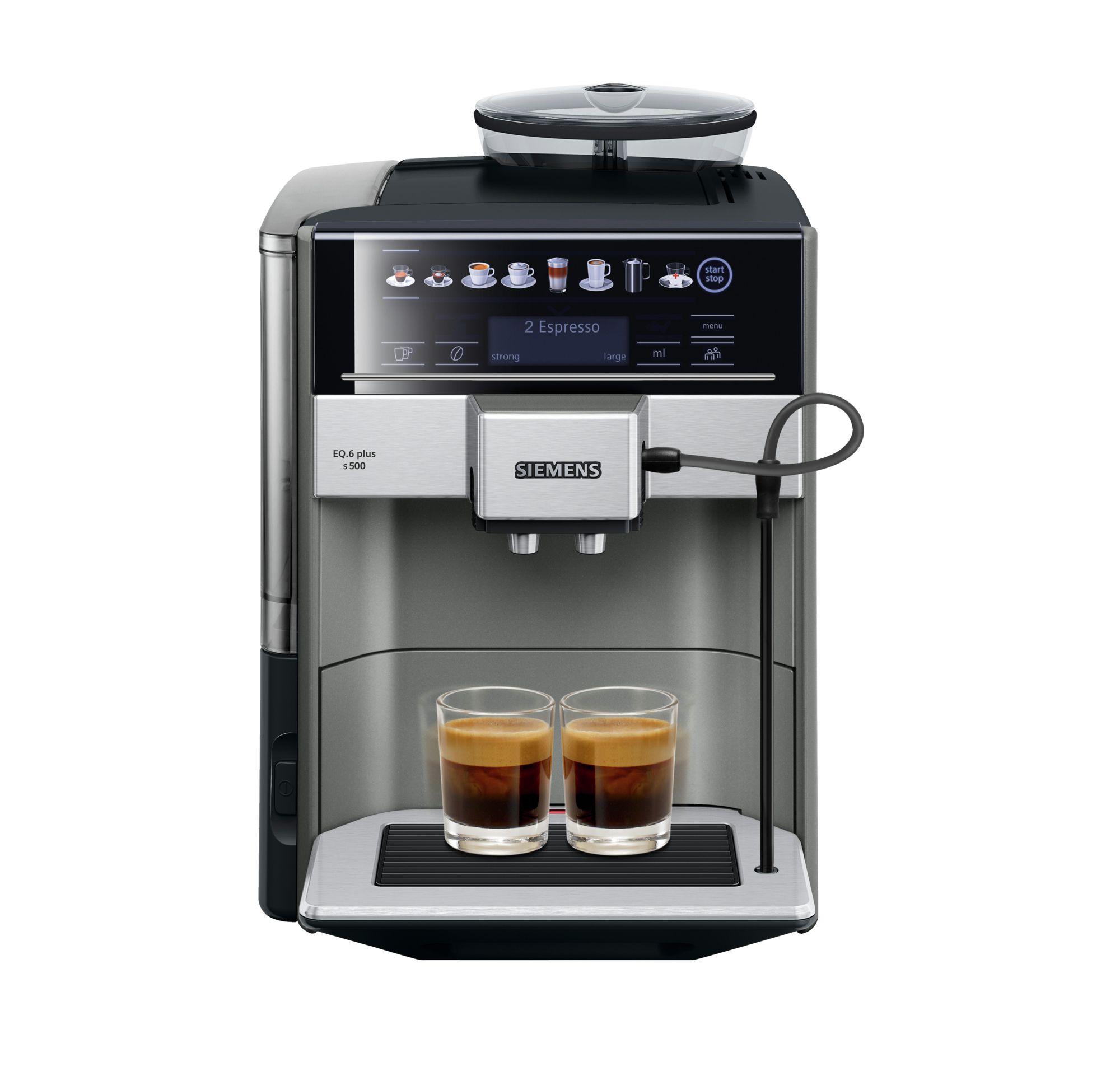 מכונת קפה אוטומטית מלאה EQ.6 plus  SIEMENS TE655203