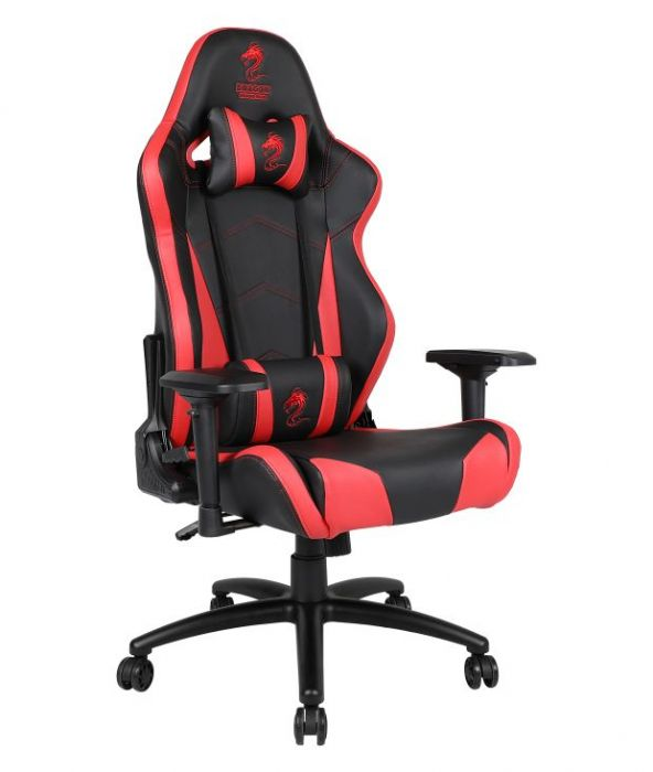 כיסא גיימינג XL מסדרת זאוס DRAGON Gaming Chair Zeus XL צבע אדום