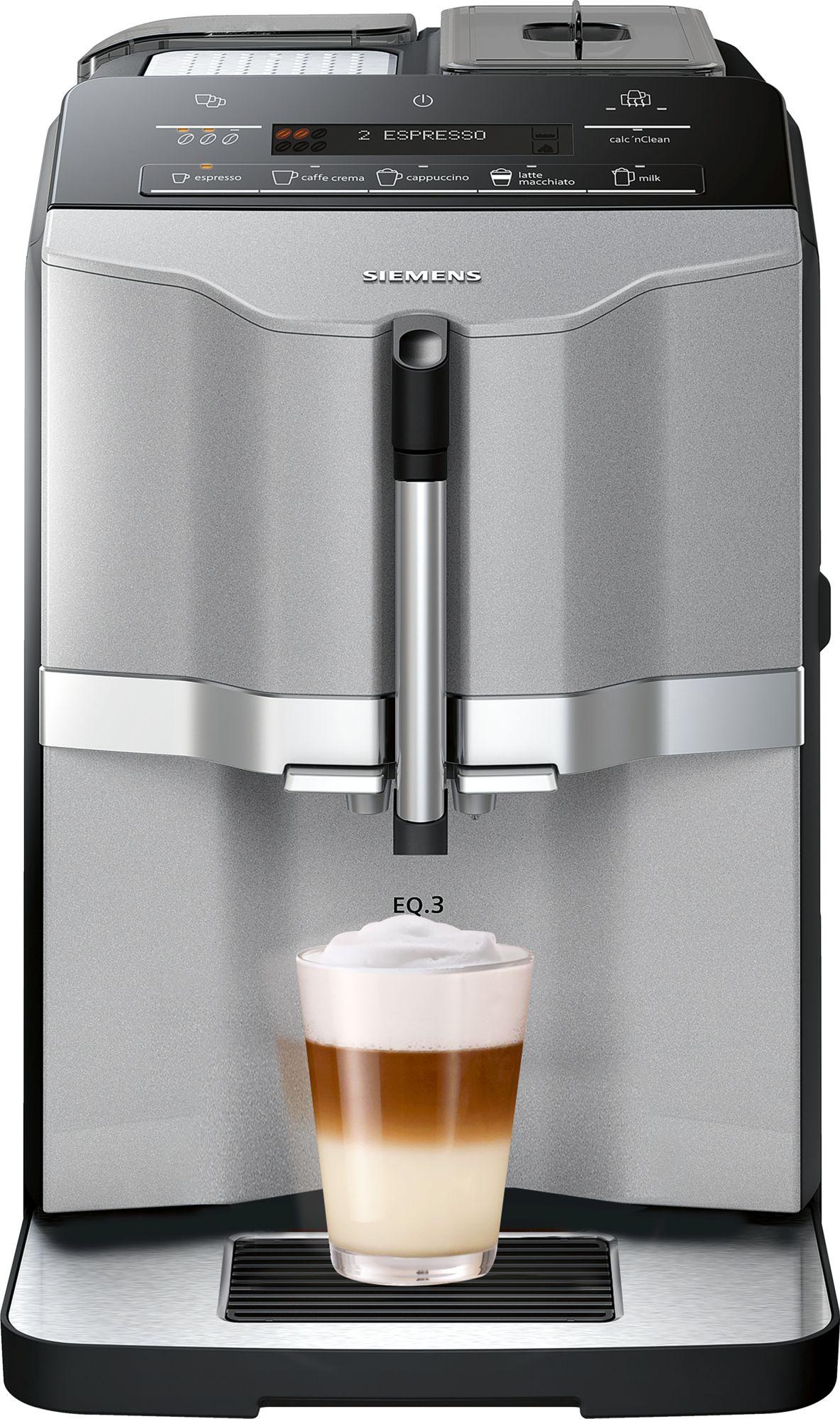 מכונת קפה אוטומטית מלאה EQ.3 s300 EQ3 SIEMENS TI303203RW