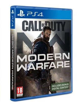 משחק  PS4 CALL OF DUTY MODERN WARFARE 2019
