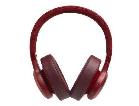 אוזניות קשת אלחוטיות  JBL LIVE 500BT בצבע אדום