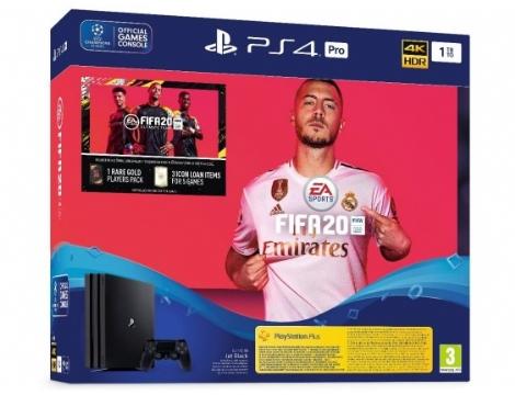 קונסולת משחקים SONY PS4 PRO + FIFA 20