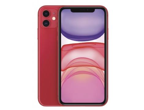 טלפון סלולרי iPhone 11 128GB צבע אדום