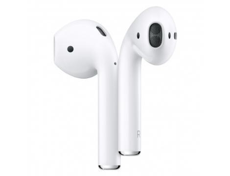 Apple אוזניות אלחוטיות   2 AirPods