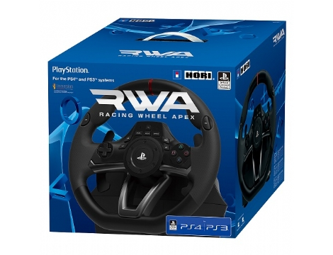 RACING WHEEL APEX-PS4-PC HORI הגה + דוושות