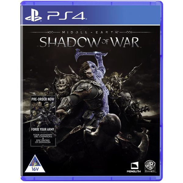 משחק MIDDLE EARTH SHADOW OF WAR D1 EDITION – PS4