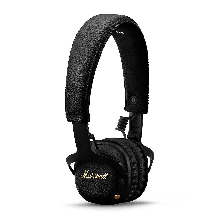 אוזניות Marshall – MID A.N.C BT צבע שחור