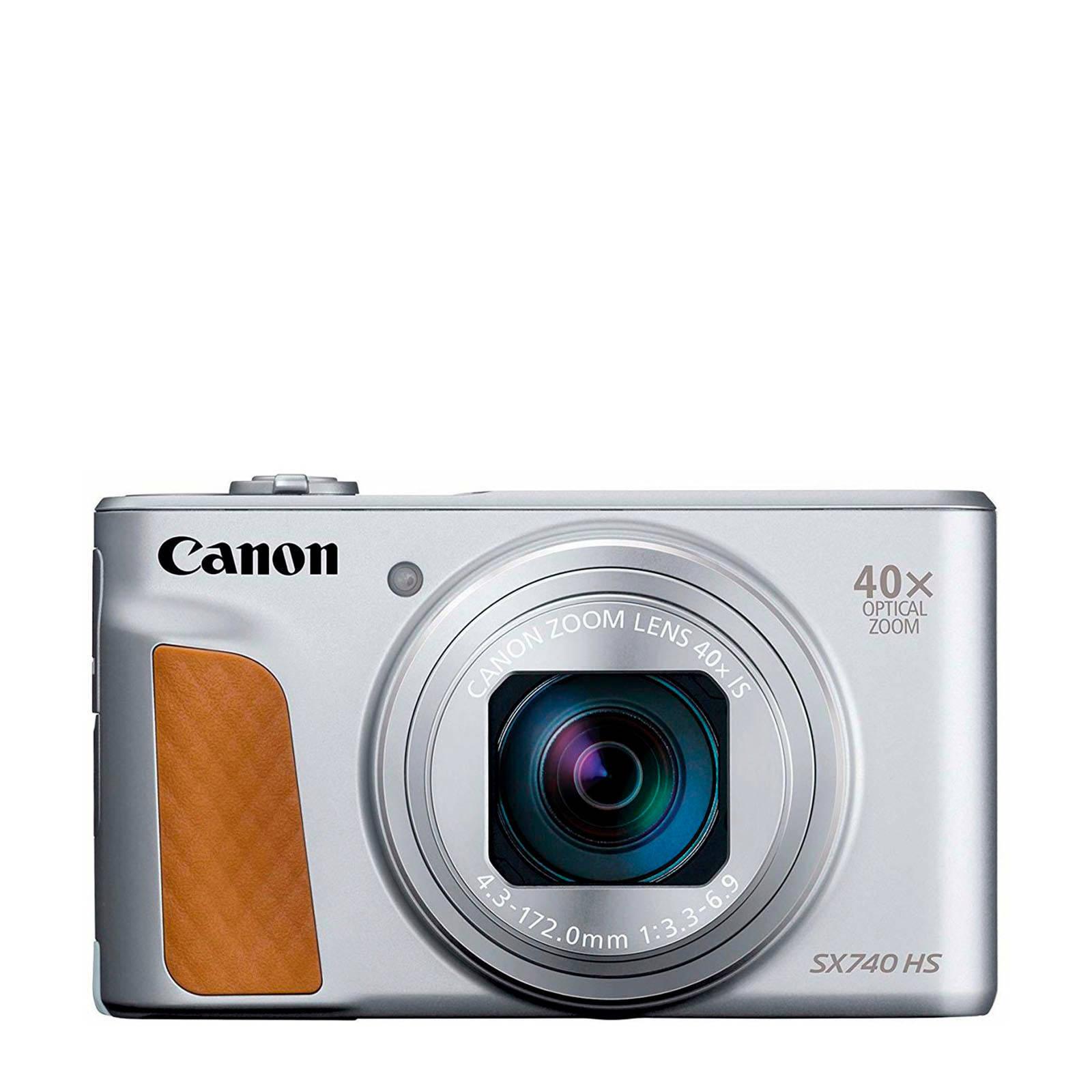 מצלמה CANON SX740 צבע כסף
