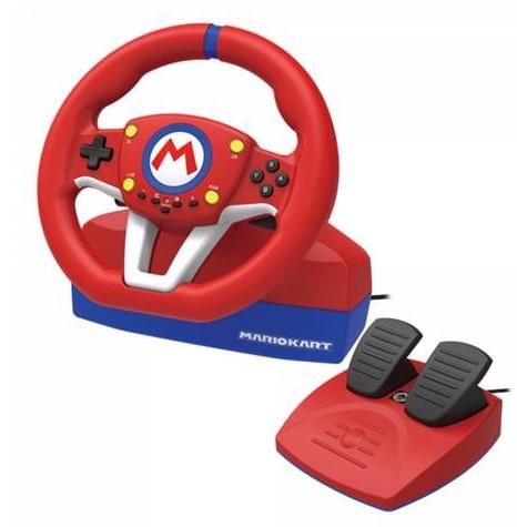 הגה כולל דוושות Kartracing Wheel Pro Mario for N.S