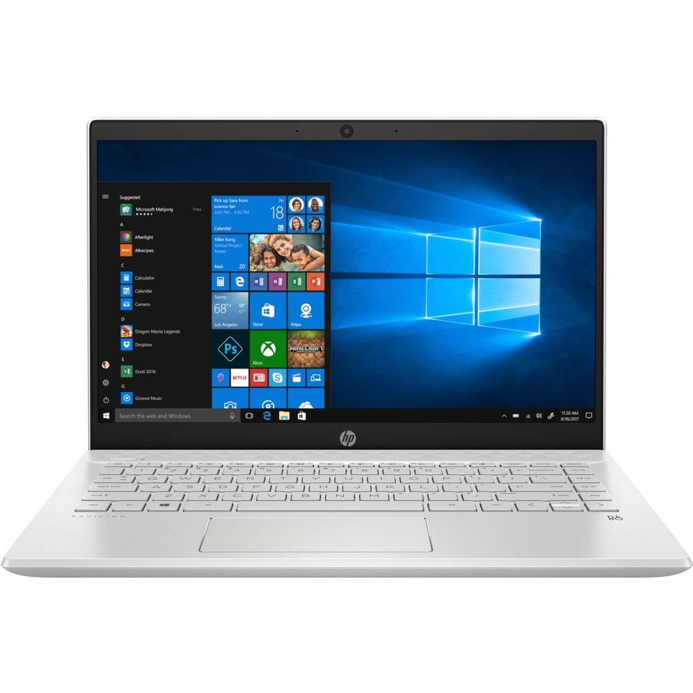 מחשב נייד 14″  HP PAVILION I7 14-ce3015nj בצבע לבן כסוף