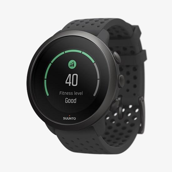 שעון כושר – דגם SUUNTO 3 קוטר 43″ בצבע  Slate Gray