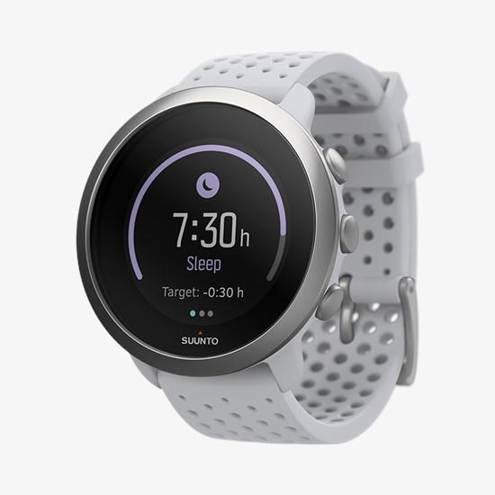 שעון כושר – דגם SUUNTO 3 קוטר 43″ בצבע  Pebble White