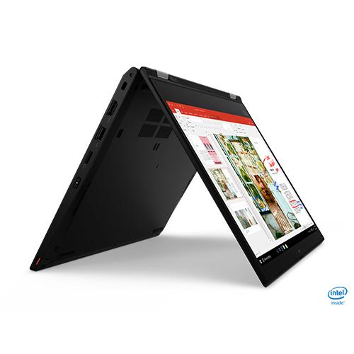 מחשב נייד עסקי 13.3 לנובו  LENOVO ThinkPad 20R5002VIV I5 L13 Yoga 2019 T צבע שחור