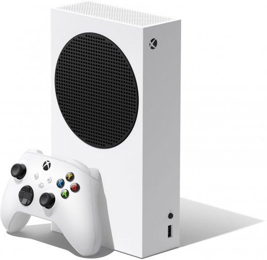 קונסולת משחק Microsoft Xbox Series S – נפח 512GB SSD בצבע לבן