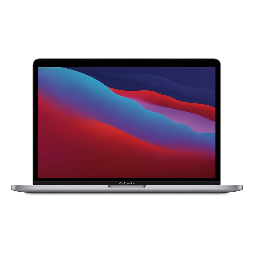 מחשב נייד אפל 13- MacBook Pro: Apple M1 512GB  -MYD92HB/A בצבע- Space Grey