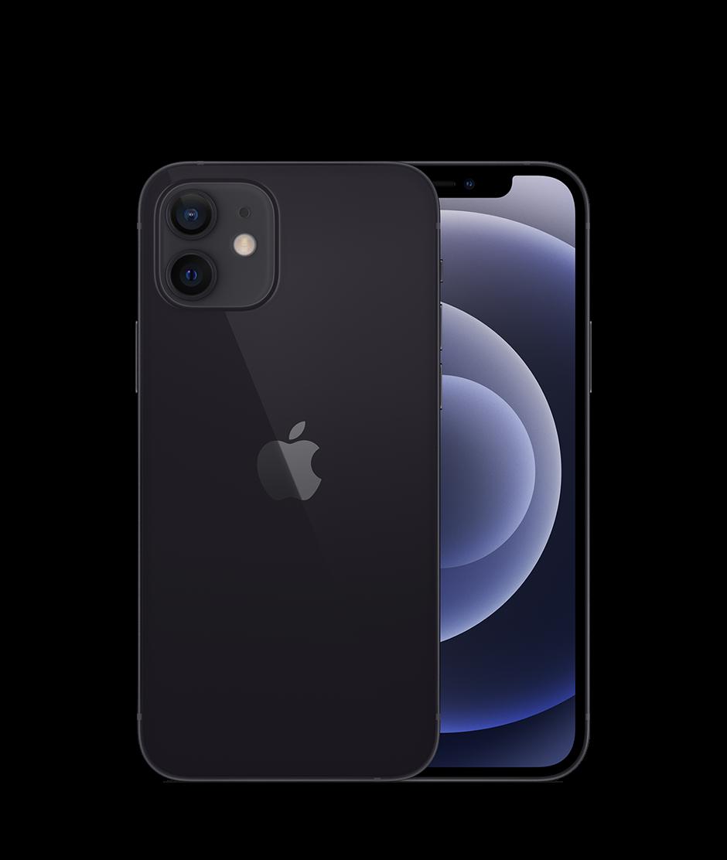 טלפון סלולרי אייפון iPhone 12 128GB בצבע  Black