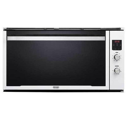 """תנור בנוי 90 ס""""מ בגוון לבן  דגם DELONGI NDB902W"""