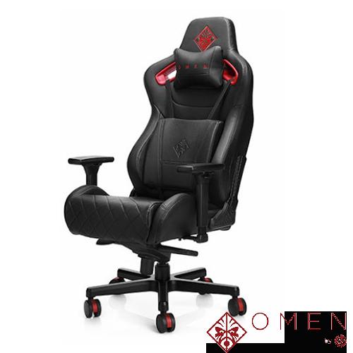 כיסא גיימינג מושלם מבית HP OMEN Citadel- צבע אדום/שחור