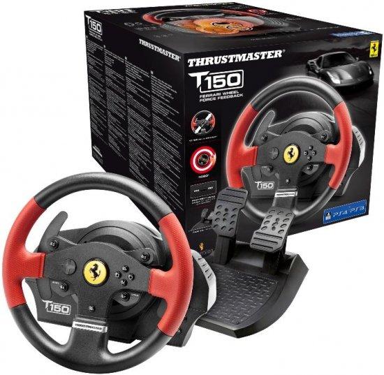 הגה PS3/4 PC Thrustmaster T150 Ferrari  Pro Force Feedback
