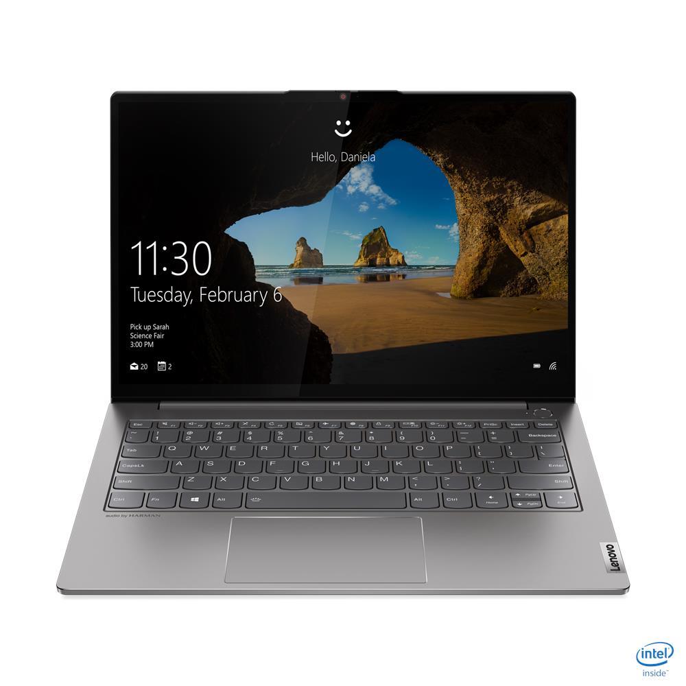 """מחשב נייד עסקי 13.3"""" 20V9003RIV I5 LENOVO ThinkBook 13s-IML בצבע אפור"""