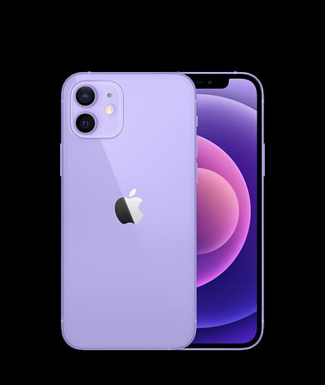 טלפון סלולרי אפל  iPhone 12 64GB בצבע Purple