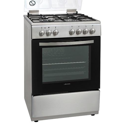 """תנור משולב 60 ס""""מ בגוון נירוסטה דגם LA CAZA LCV60IX"""