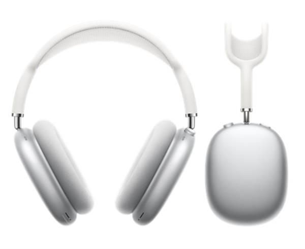אוזניות Over-ear אפל Apple AirPods Max בצבע כסוף